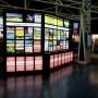 LED Backlit Light Boxes with snaplock frames